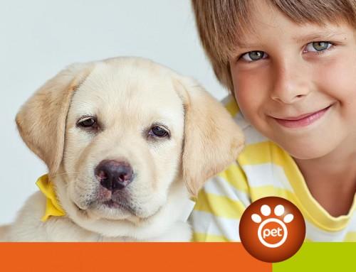 Perché il cane fa bene ai bambini